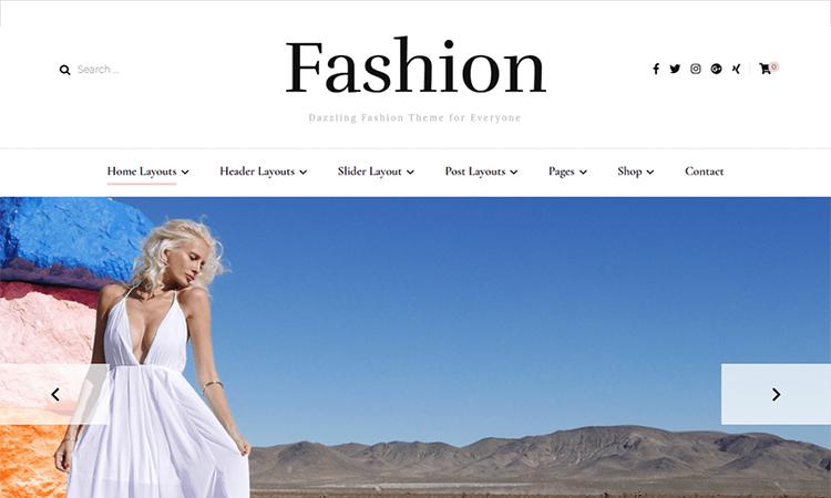 11+ fashion theme