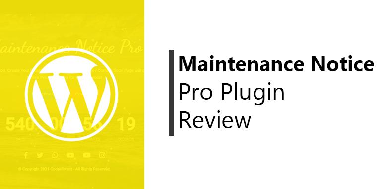 Maintenance-Notice-Pro-Plugin-Review-post